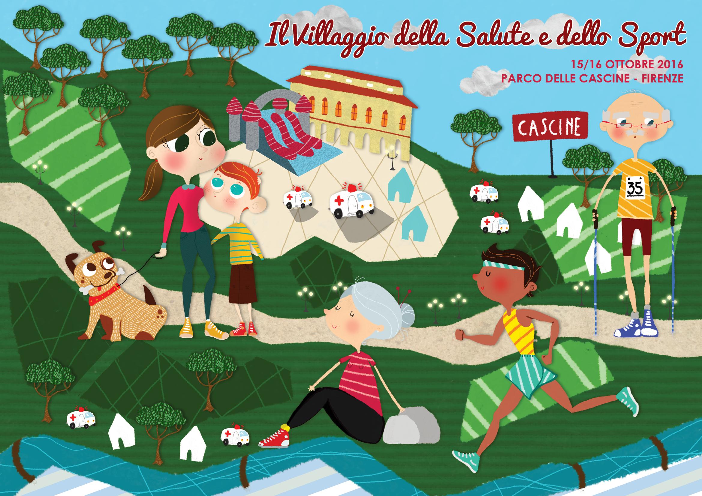Villaggio della salute e dello sport - Parco dele Cascine di Firenze @ Firenze, parco delle cascine | Firenze | Toscana | Italia