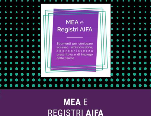 MEA e Registri AIFA