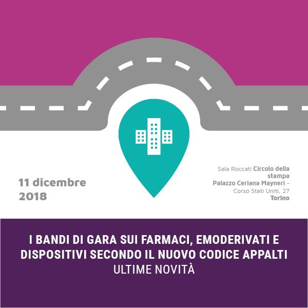 Bandi di gara – Torino 11 dicembre 2018