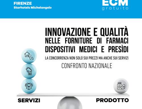 18 ottobre 2019 – Innovazione e qualità nelle forniture di farmaci dispositivi medici e presìdi
